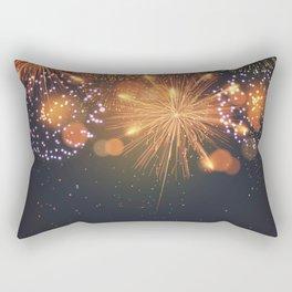 Happy Fireworks Rectangular Pillow