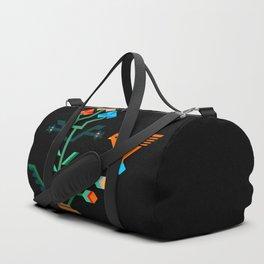 Flower and bird Duffle Bag