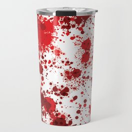 Blood Splatter Travel Mug
