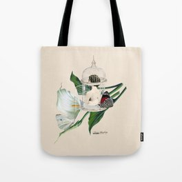 the cage door is always open Tote Bag