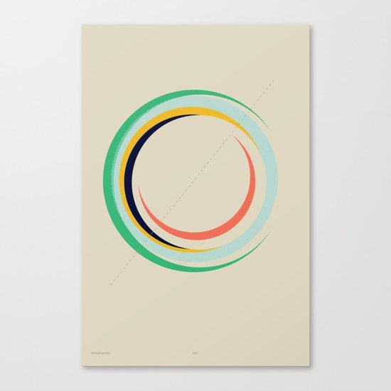 Future Globes 004 — Matthew Korbel-Bowers Canvas Print