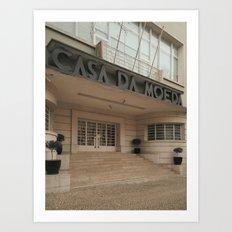Lisboa Art Deco #04 Art Print