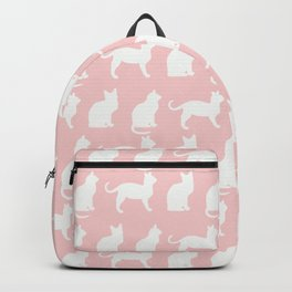 Pretty Pussy Cats on Pink Backpack