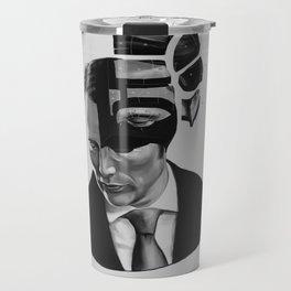 Hannibal Lecter Phrenology Travel Mug