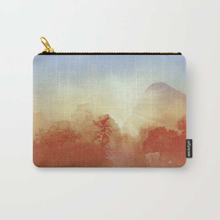 tropical forest Carry-All Pouch