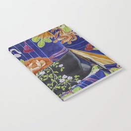 Kimono Flowers Notebook