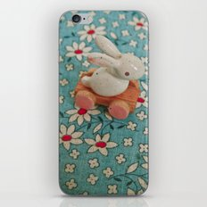 Bunny Blues iPhone Skin