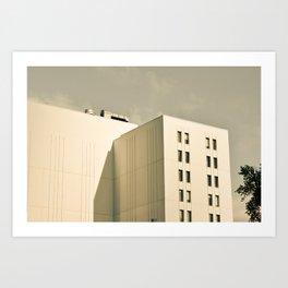 Modern Minimal Cityscape Art Print