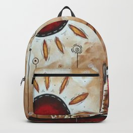 Sun in the desert Backpack