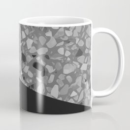 Terrazzo Texture Grey Black #7 Coffee Mug