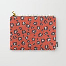 Abstract leopard spots pattern Carry-All Pouch
