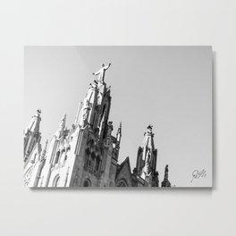 El cristo de Collserola / The Christ of Collserola Metal Print