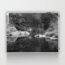 Shoreline Reflection On the Water Laptop & iPad Skin