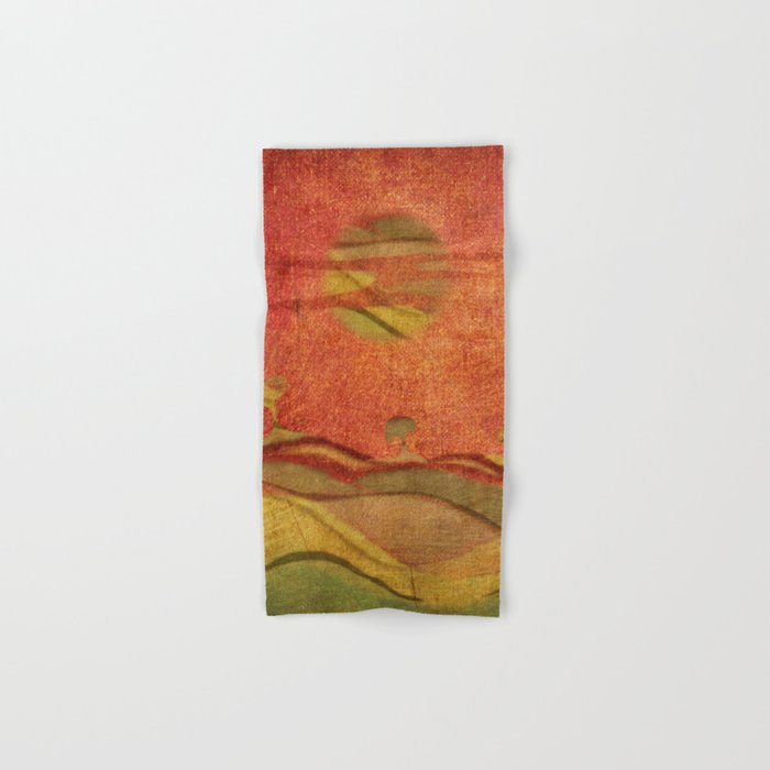 Cinnamon Trees Hand & Bath Towel