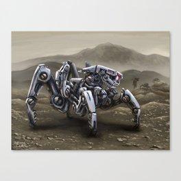 Spiderbot Canvas Print