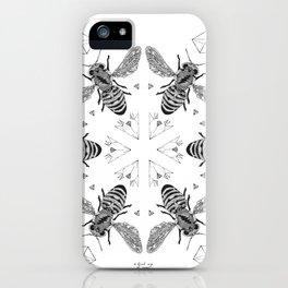 Mandala - Killer Bees iPhone Case