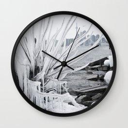 polson pier toronto Wall Clock
