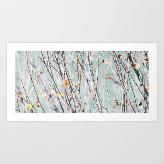 riverside branches Art Print