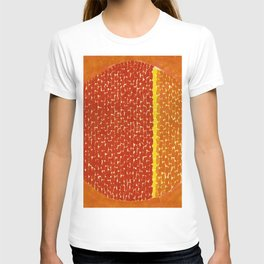 Snoopy sees Earth Wrapped in Sunset African American Masterpiece by Alma Thomas T-shirt