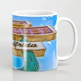 Hilltop Steakhouse Sign Coffee Mug