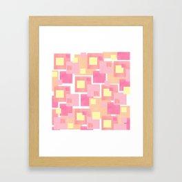 Colour Blocks 2 Framed Art Print