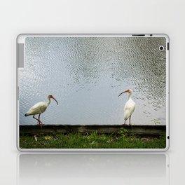 A Lakeside Chat Laptop & iPad Skin
