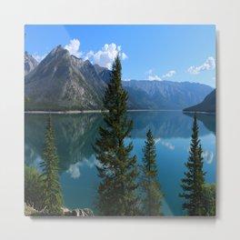 Beautiful Lake Minnewanka Metal Print