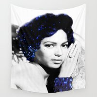 dorothy Wall Tapestries featuring Dorothy Dandridge by PureVintageLove