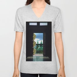 Hold the Door Unisex V-Neck