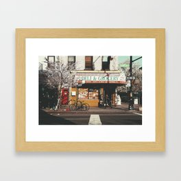 Crown Heights, Brooklyn Framed Art Print