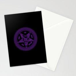Sebastian Michaelis Sigil Dark (black bg) Stationery Cards
