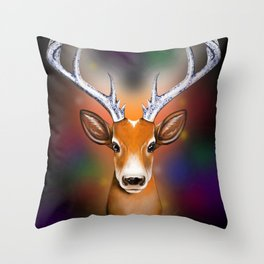 Christmas Woodland Beast Throw Pillow