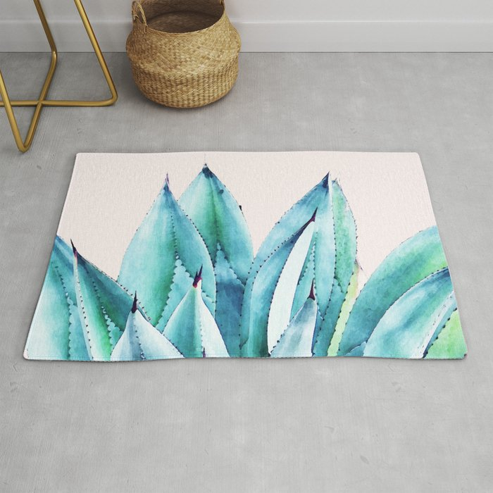 Agave Vibe #society6 #artprints #buyart Rug