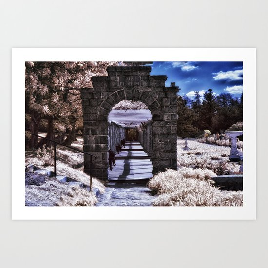 Painting in the Park Art Print