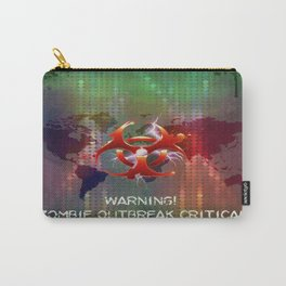 ZOMBIE OUTBREAK CRITICAL Carry-All Pouch