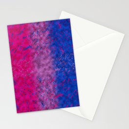 With Bi Pride Stationery Cards