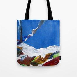 Tibetan laundry Tote Bag