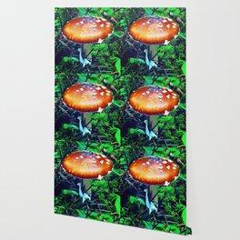 A Shroom in the Gloom Wallpaper
