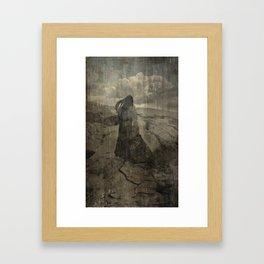 Land Splits Love Lost Framed Art Print