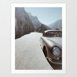 Grand Alpes 356-1 Art Print