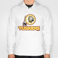 washington Hoodies featuring Washington Tuskens by Ant Atomic