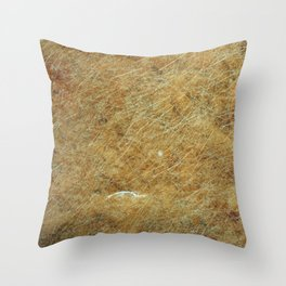Stoned rifled Throw Pillow