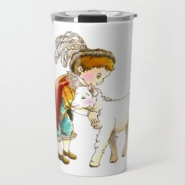 Prince Richard and his new Friend Travel Mug