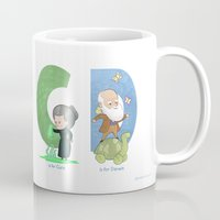 science Mugs featuring Science ABC by Anna-Maria Jung