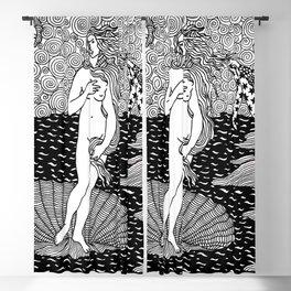 Venus - Botticelli Blackout Curtain