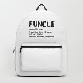 Funcle Fun Uncle Definition For Military Veterans Backpack