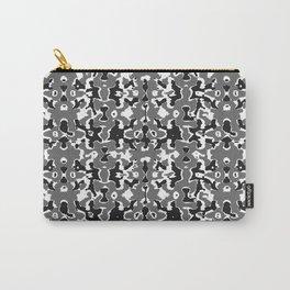 Dark Camo Style Design Carry-All Pouch