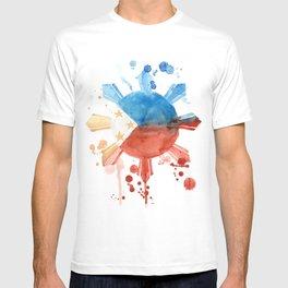 Philippine Flag Art T-shirt