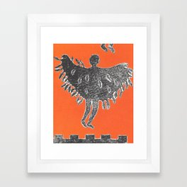 Icarus and Daedalus VIII Framed Art Print