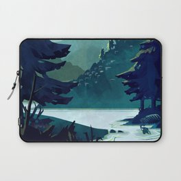 Canadian Mountain Laptop Sleeve